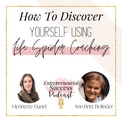 how to discover yourself using life spider coaching.