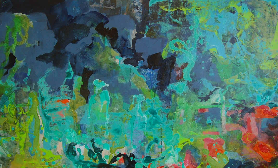 At night 70x114 cm