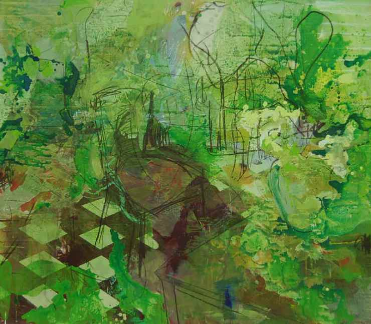 Green room 140x160 cm
