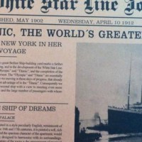 Titanic - the exhibition 15 april-31 augusti