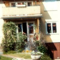 Huset jag växte upp i...