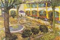 Jardim - Quadro de Vicente Van Gog