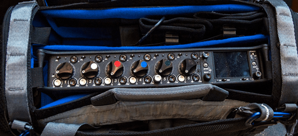 Sound Devices 664 Timecode Multitrack Recorder and Field Mixer