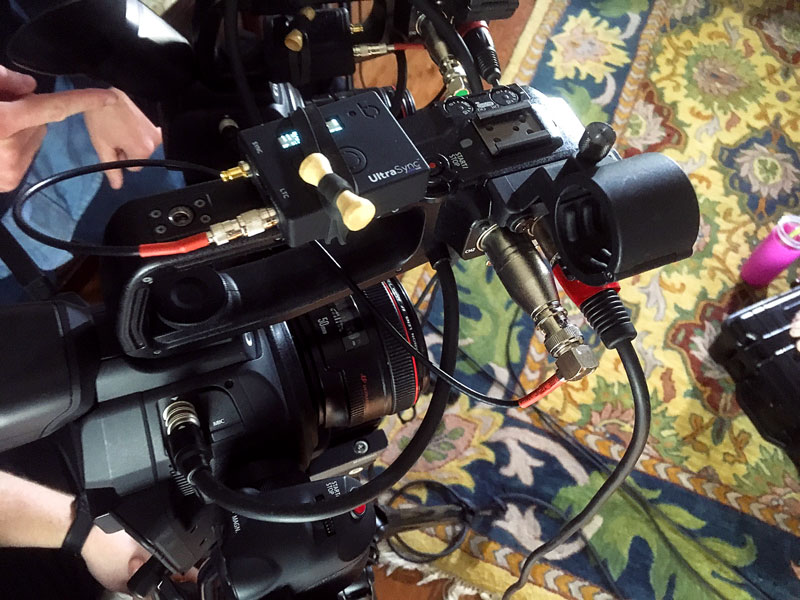 Audio Timecode for DSLRs Canon C100