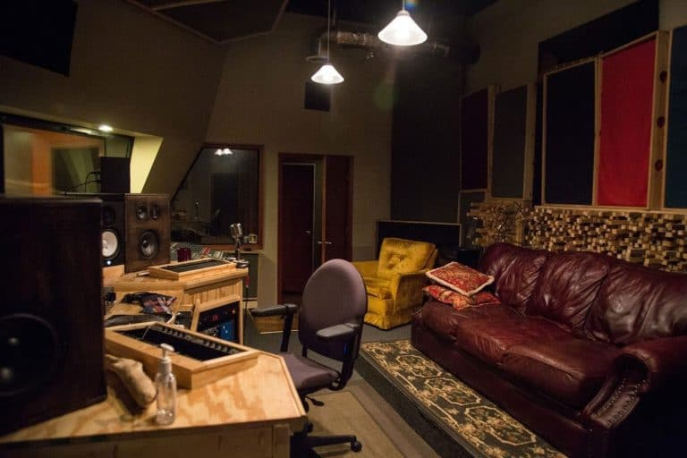 Film Mixing Stage & Recording Studio Control Room