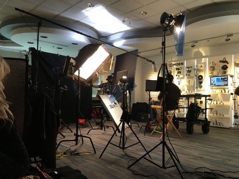 HGTV Cleveland Video Recording BTS Behind The Scenes with Moen