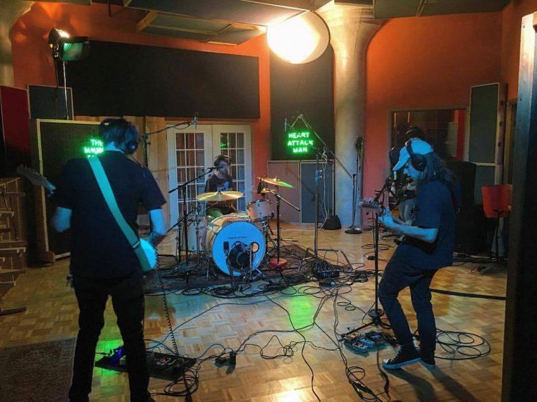 Heart Attack Man Live Recording Studio Session