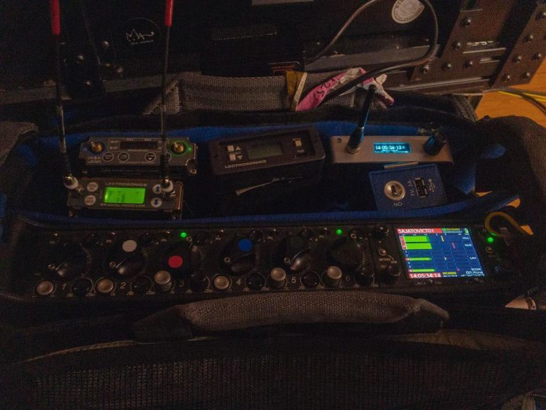 Production Sound Gear: Mixer, Wireless, Timecode, IFB