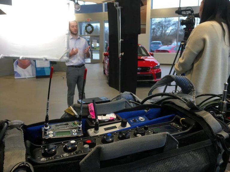 Subaru Corporate Video Production Sound