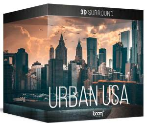 Urban USA 3D Surround Ambiences Boom Library