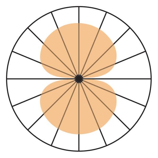 Figure 8 BiDirectional Polar Pickup Pattern