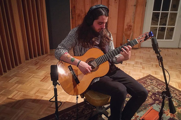 Recording Acoustic Guitar with Spaced Omni Mics