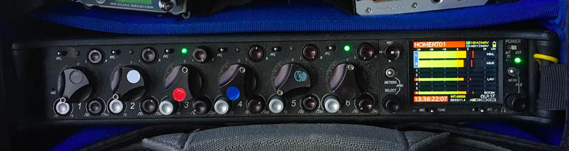 Sound Devices 664 Field Recorder and Mixer