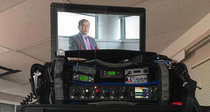 Panasonic SDI Video Monitor