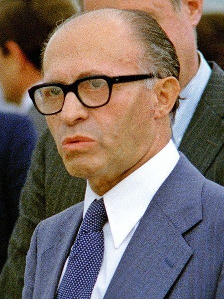 Menachem Begin in 1978. Source: Wikipedia Commons