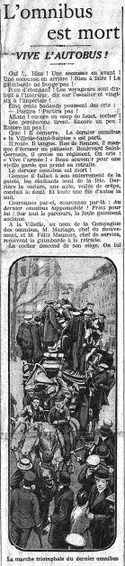 Le Matin, 12-01-1913.