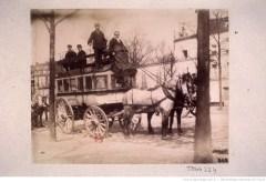 Omnibus de Montmartre. Atget, 1898. Source : Gallica/BnF.
