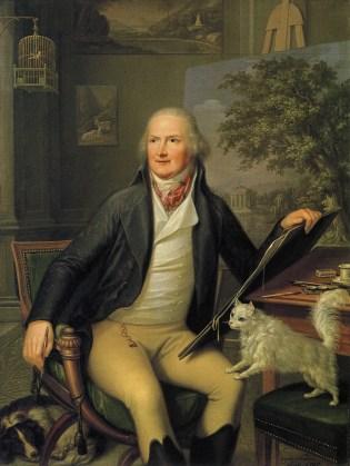 Augusto Nicodemo, portrait de Jakob Philipp Hackert, 1797.