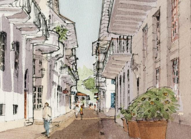 Calle Peatonal de Ciudad Porta Norte