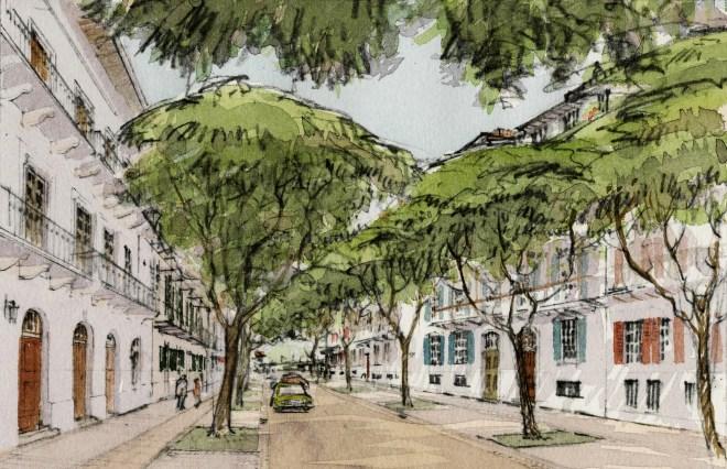 Street in Porta Norte