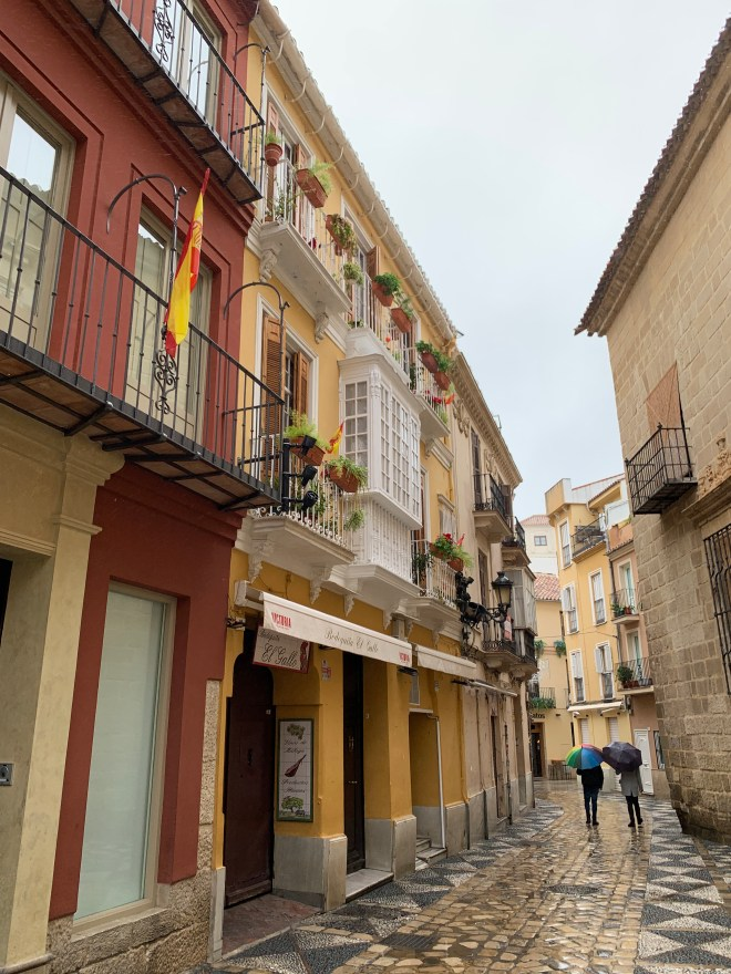 Calle del Museo Picasso