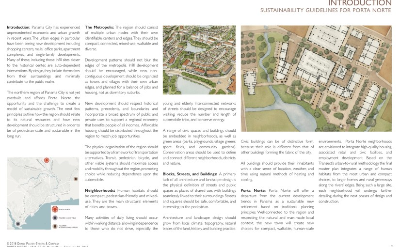 Sustainability Guidelines for Porta Norte