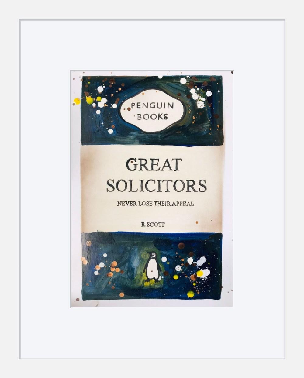 Great Solicitors framed