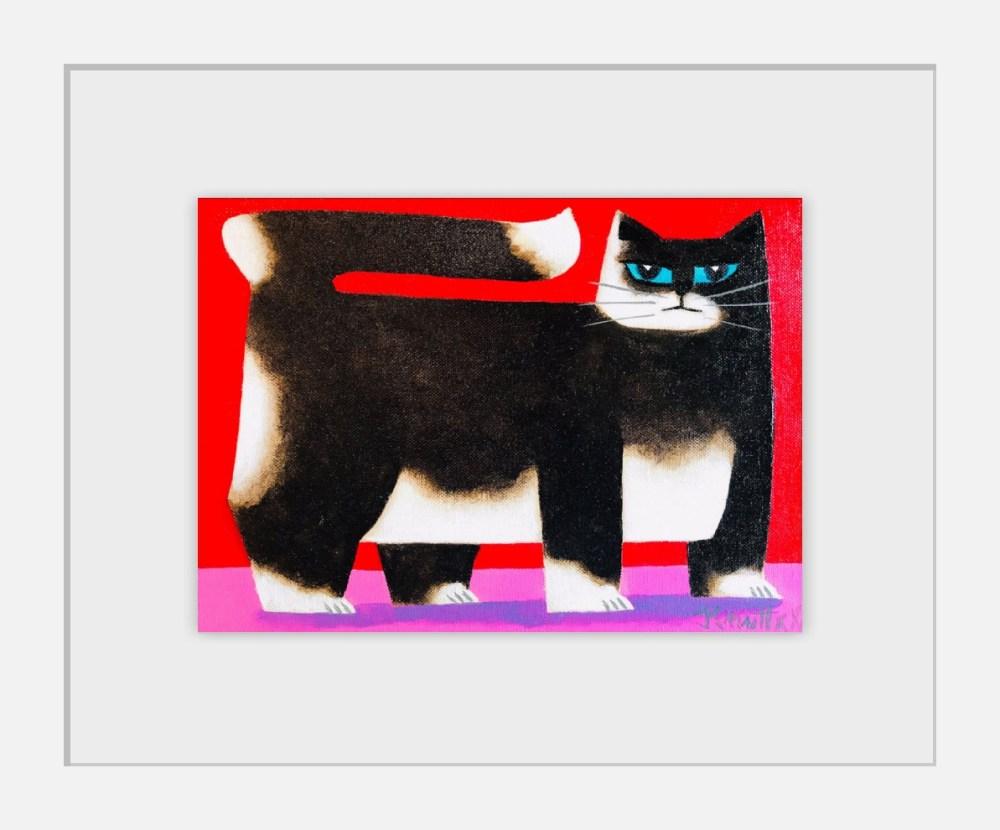 Pats Cat Framed