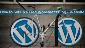WordPress Blog: How to set up a Free Blog using WordPress.com: Beginners Guide