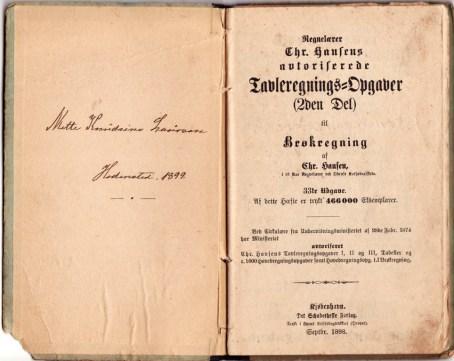 chr-hansens-regnebog-tavle-opgaver