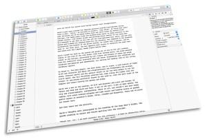 Scrivener work in progress