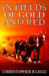 In Fields of Gold and Red by Christopher B Legg