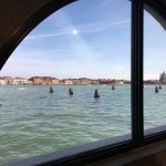 View from Treasures from the Wreck of the Unbelievable by Damien Hirst at the Punta della Dogana, Venice