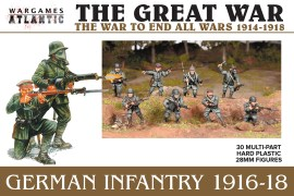 The Great War German Infantry 1916-18