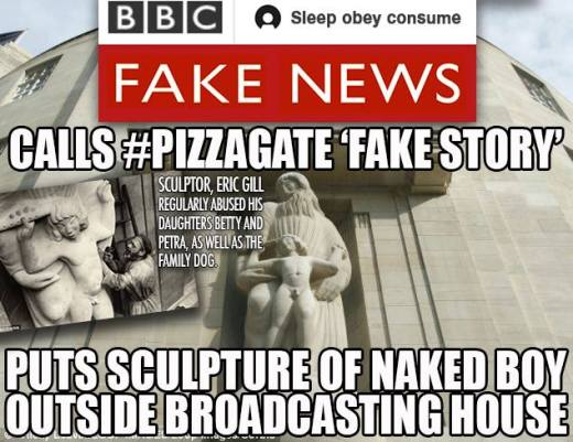 Image result for pedo art outside the BBC