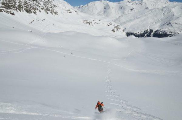 Henry Schniewind Off Piste Val d'Isere