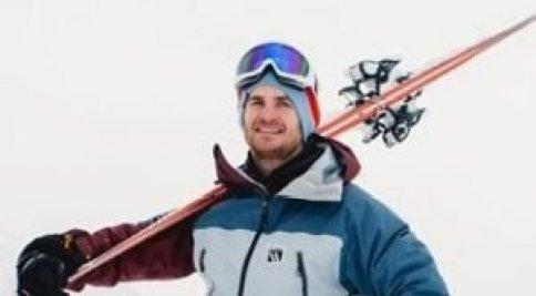 Liam Luke off-piste Ski instructor, Val dIsere, HAT trainer