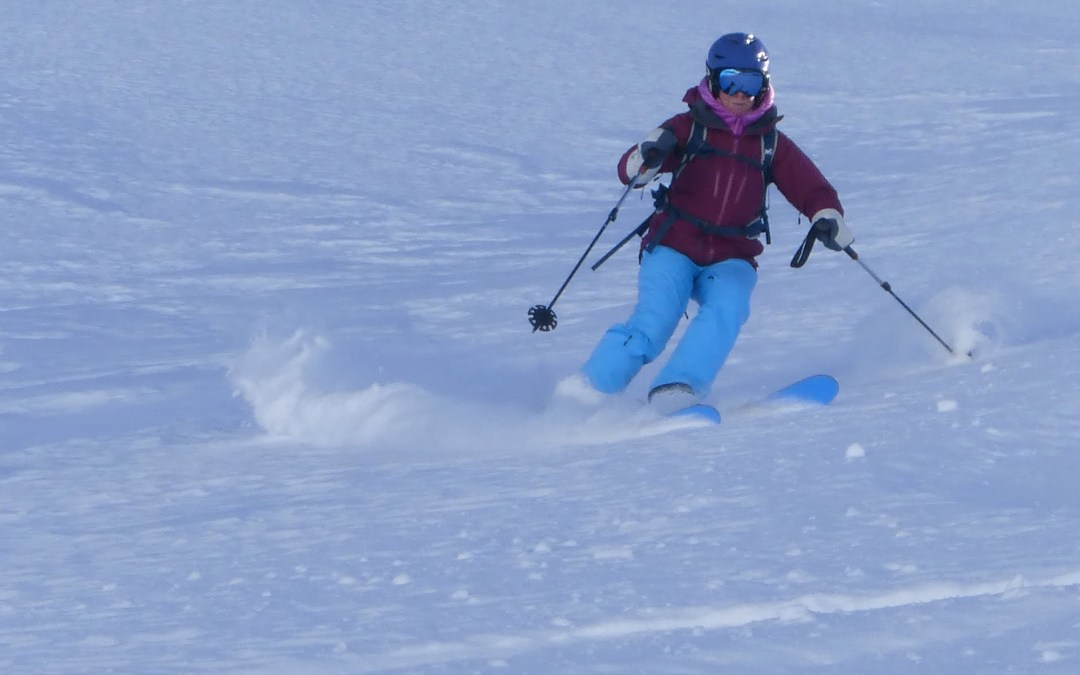 Off piste snow report and weather 22 December