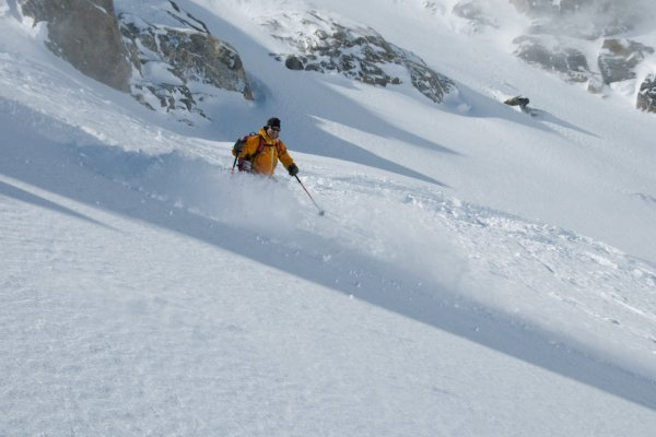 avalanche awareness course with Henry