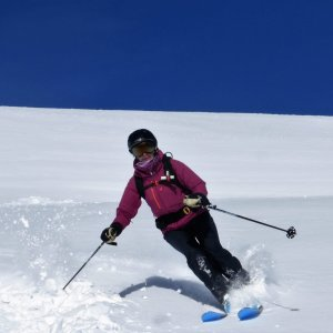 On snow courses