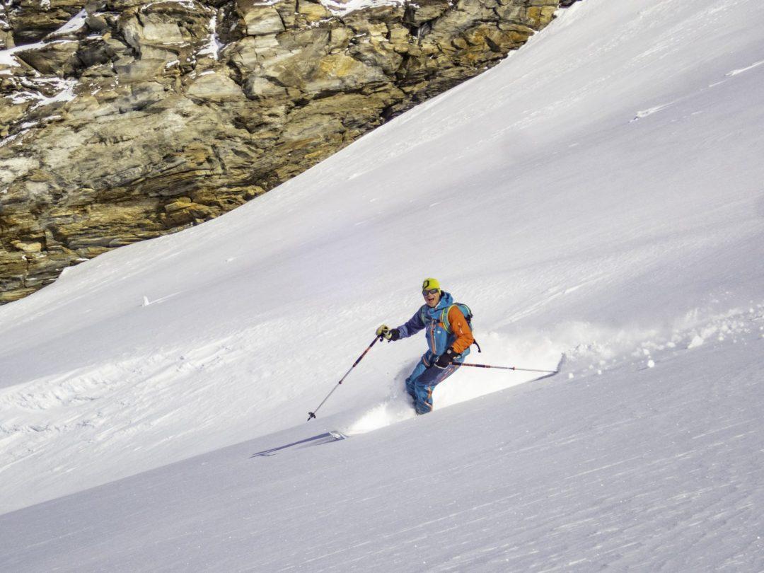 Henry Schniewind skiing in Val d'Isere