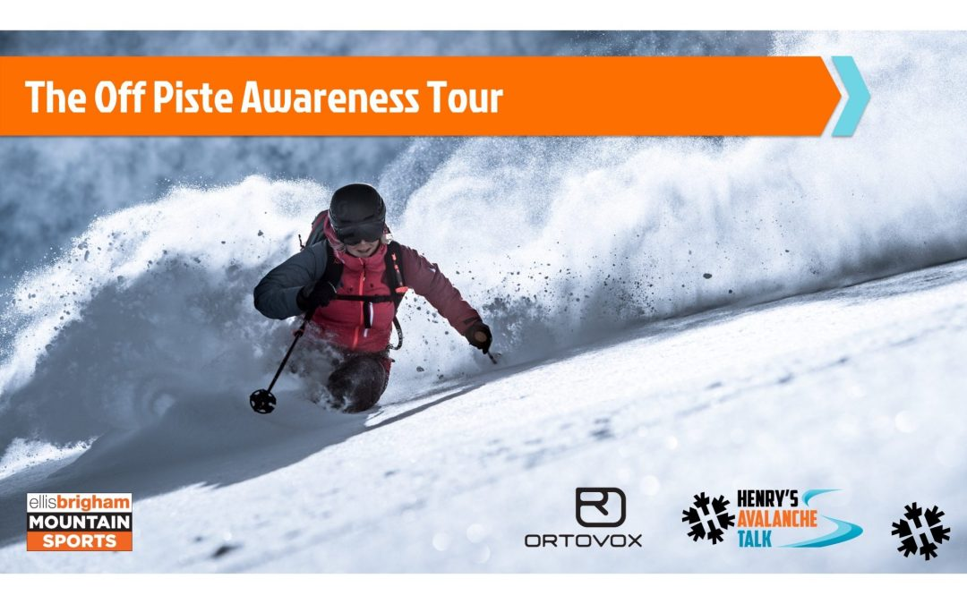 Henry's Avalanche Talk launches ORTOVOX Off-Piste Awareness Tour 2019