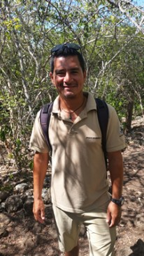 Andres, our wonderful guide and trained naturalist