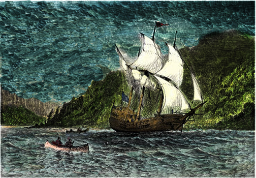 ship canoes