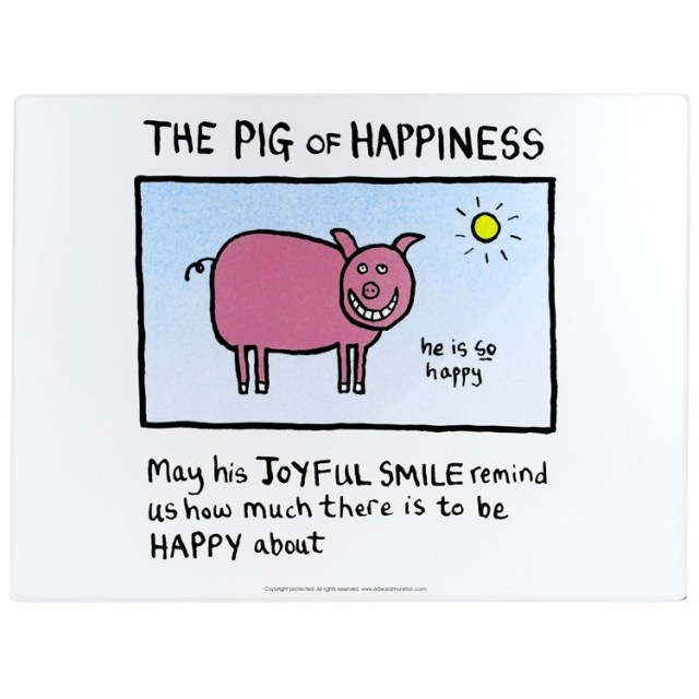 Pig of happiness