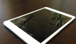 broken ipad