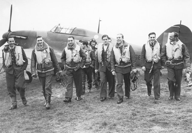 303 Polish squadron