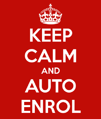 keep calm and auto-enrol