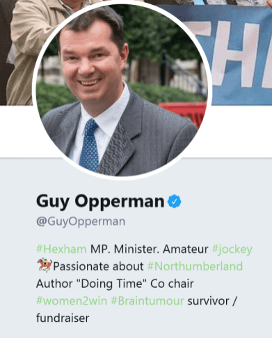 Guy opperman tweet