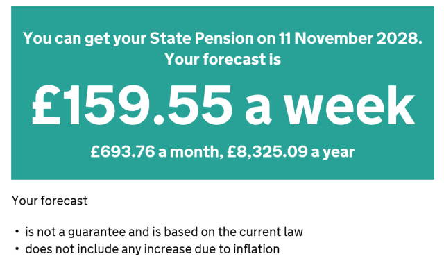 state pension ht